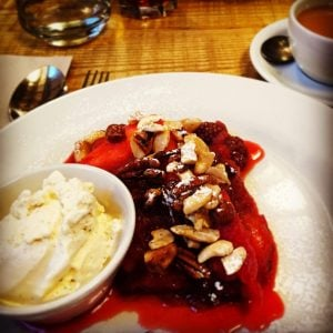in Norfolk | Virtuous crumble at Wild Thyme