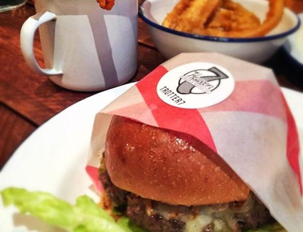 in Norfolk | Hamburgers at 7Heaven
