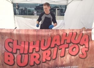 in Norfolk | Chihuahua Burritos at Feast on the Street