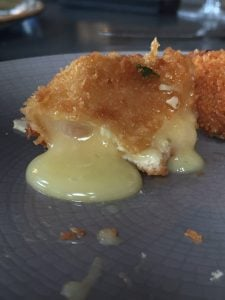 Cheese fritters at Warwick Street Social