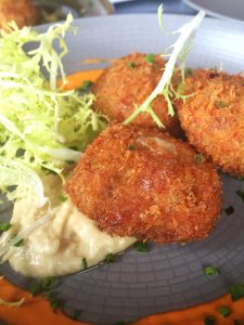 Pork and cheese croquettes at WSS