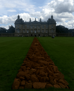 Houghton Hall and A Line Through Norfolk
