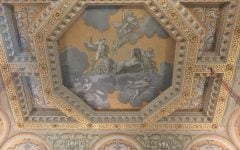 Apollo and Chariot, ceiling at Houghton Hall