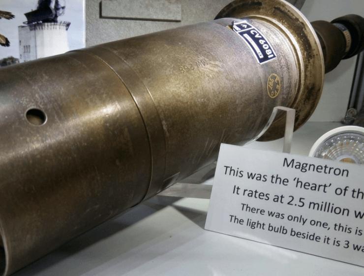 Museum 4 Watton Magnetron