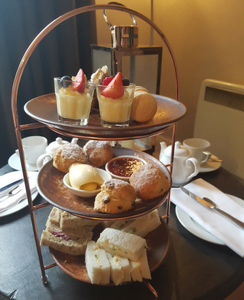 Afternoon tea at Norfolk Mead Hotel