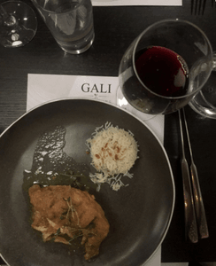 Sylhety Korma at Gali Fine Dining