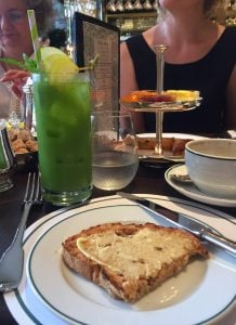 Green Smoothie at The Ivy Brasserie