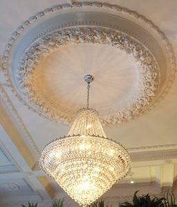 Chandelier at The Ivy Brasserie