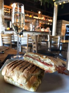 Paninis and prosecco at Veeno Norwich