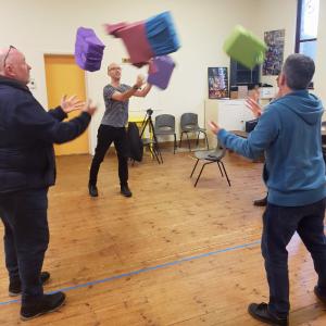 Aladdin rehearsals