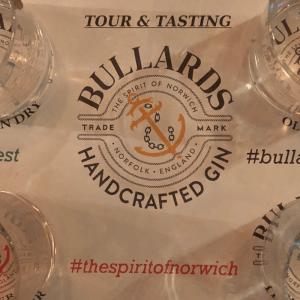 Gin Tasting notes at Bullards