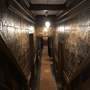 Corridor at Oxburgh Hall