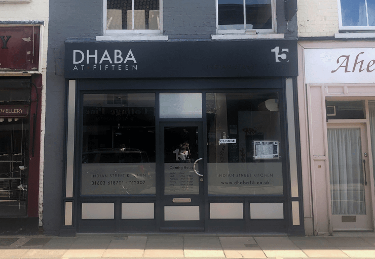 Dhaba 15 on Magdalen Street