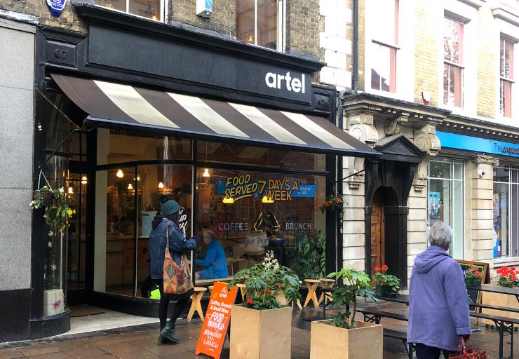 Artel, London Street, Norwich