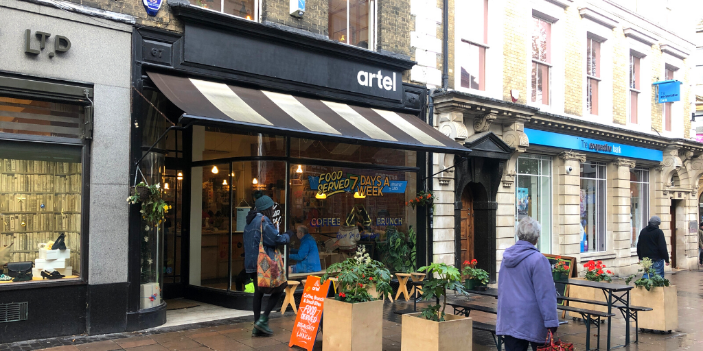 Artel, London Street, Norwich