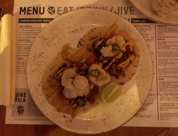 Pork Taco at Jive Kitchen Norwich