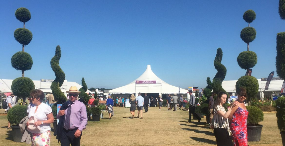 Royal Norfolk Show - horticulture show