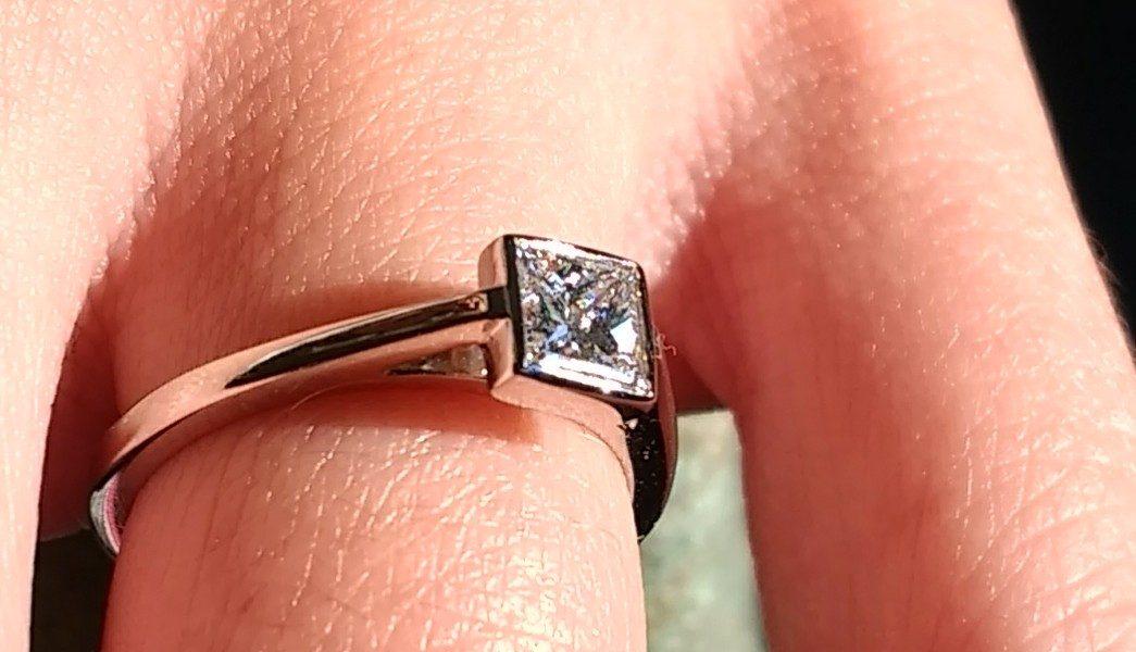 Aurum engagement ring