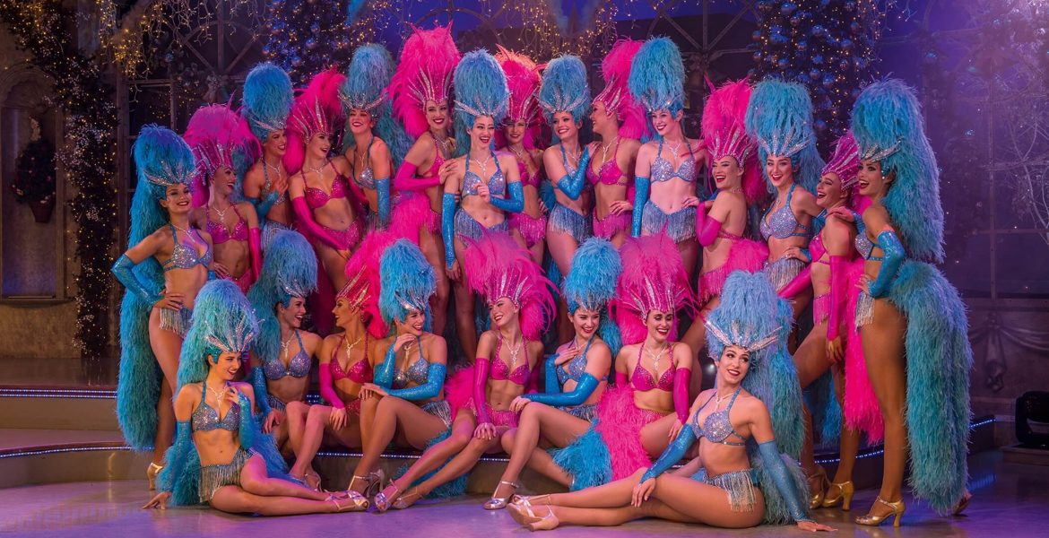 Thursford Christmas Spectacular Showgirls