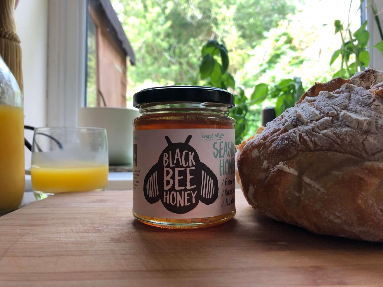 Black Bee Honey